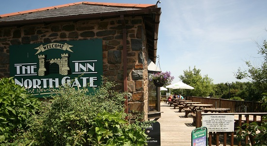 The North Gate Restaurant conveniently situated from the M5 and Barnnstaple in South Molton, Devon
